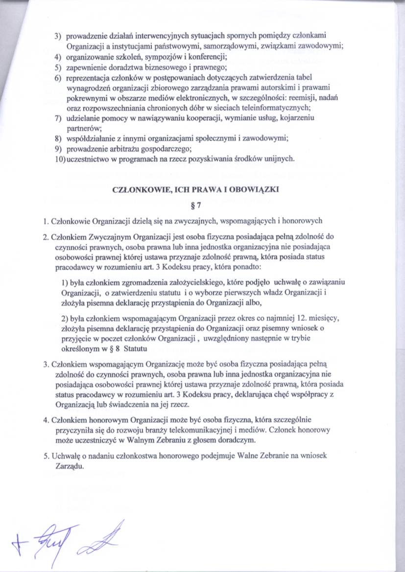 Statut str.3