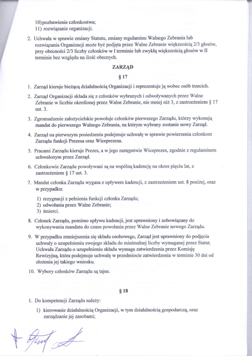 Statut str.6
