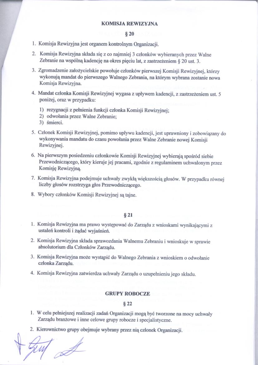 Statut str.8